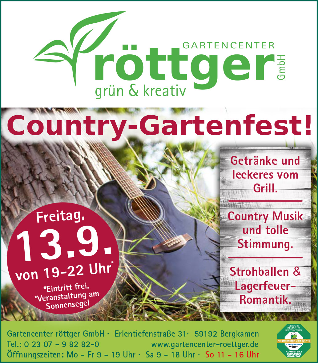 Country-Gartenfest!